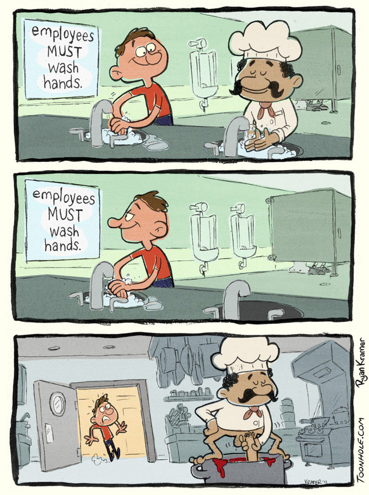 Must Wash Hands