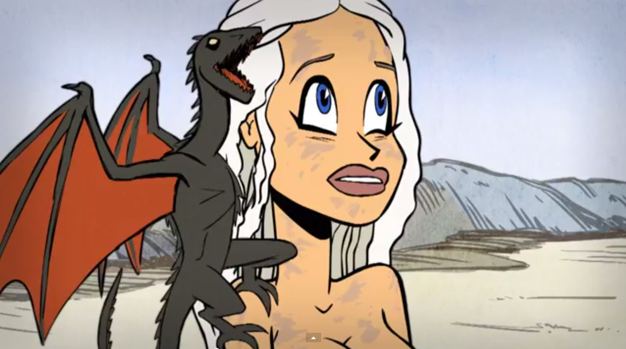Khaleesi Khartoon – Blood of My Bloods