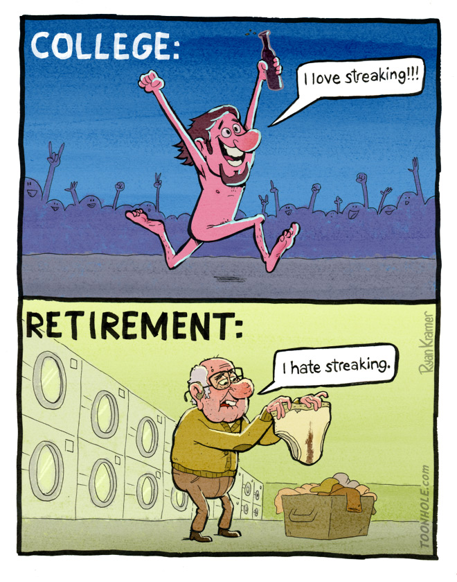 Streaking